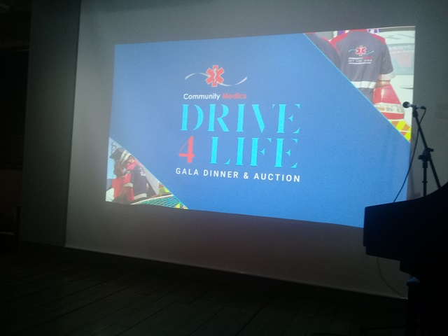 COMMUNITY MEDICS GALA DINNER – A NIGHT TO BE REMEMBERED!